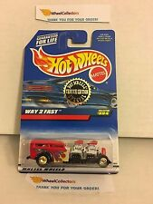 Way 2 Fast #994 Red * Trailer Limited Edition * Hot Wheels * W7