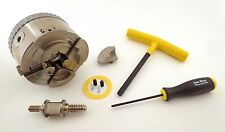 "Easy Wood Tools 4 Jaw Chuck 1"" x 8 TPI  with free SS Chucking Screw ($30 value)"