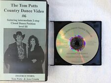 Tom Potts Country Dance Video #6 Int. Level III 2-step Closed DP Orig. from 1993