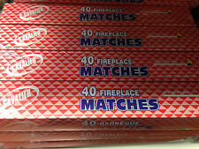 "LOT OF 160CT LONG MATCHES FIREPLACE~BBQ 11"" FREE SHIPPING"