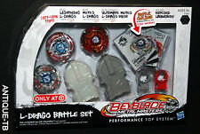 BEYBLADE METAL MASTERS L DRAGO BATTLE SET RARE 2011 LIGHTNING METEO ULTIMATE