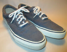 Sperry Top-Sider Marine Mens sz 10 M Navy Blue Canvas Sneaker Style Shoes