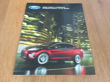 2008 Ford Mustang Glass Roof Car and Verve Press Media Sales Brochure - Explorer