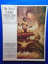 ~~ THE CONAN CLASSICS COLLECTION SET 4 BY DOUG BEEKMAN #1325/2000~ SQP 1990 ~~