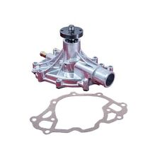 Ford Mechanical Water Pump 289, 302 and 351W Engines Polished Billet Aluminum