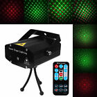 LED Stage Lighting Mini R&G Laser Projector Disco Party Club DJ Light +Remote