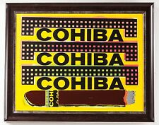 Steve Kaufman Cohiba Cigar Painting Pop Street Art Man Cave Lady Layer Tobacco
