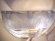 NEW GERMAN CRYSTAL NACHTMAN ZEBRA CANDELABRA..