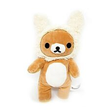 San-X Cute Kawaii Rilakkuma Mascot Yellow Rabbit Plush Doll 10""