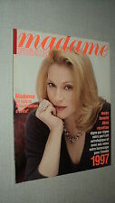 MADAME FIGARO 645 (4/1//97) MADONNA BRIALY VINCENT PEREZ ISABELLE HUPPERT DAHO