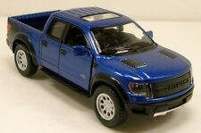K101 Ford 2013 F-150 SVT Raptor Supercrew Pickup Truck 1:46 diecast model Blue