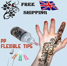 30ml Henna Temporary Tattoo Applicator Bottle Writing Drawing Painting Cake