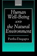Human Well-Being and the Natural Environment-ExLibrary