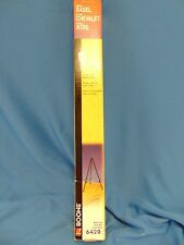 """Tabletop easel ACCO Boone black steel #6420  13 3/4"""" presentations art show NOS"""