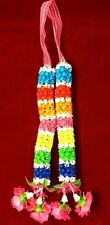 Small Thai 7 Colors Phuang Malai Jed See Plastic Garland