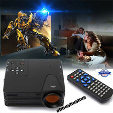 1500 Lumens HD 1080P Android 4.2 LED Video Projector Home Cinema AV USB US