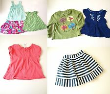19 Pc Lot Toddler Girls Tops Skirts Footed Pajamas Carters Play Clothes 4T 4 5