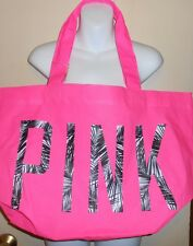Victoria's Secret Pink Limited Edition 2014 Spring Break Tote Beach Bag NWT RARE