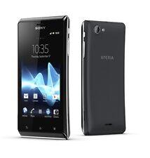Sony Xperia J ST26i Black 4GB Android Smartphone 5MP Schwarz Ohne Simlock NEU