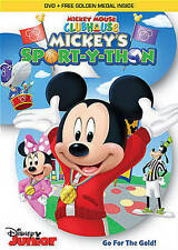 MICKEY MOUSE CLUBHOUSE: MICKEY'S SPORT-Y-THON + FREE GOLDEN MEDAL SEALED NEW DVD