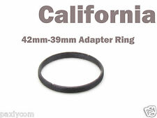 42mm-39mm M42 to M39 Lens mount adapter Screw Mount Step Up Ring Pentax Leica