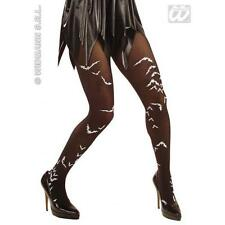 Ladies Black Bat Tights Sexy Vampire Halloween Fancy Dress Accessory