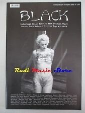 BLACK MAGAZINE 27/2002 Dark Muse Megaherz Sally Doerty Spiritual Front (*) No cd