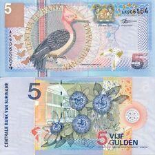 SURINAM 5 Gulden 2000 NEUF UNC