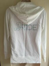 Victoria's Secret Bridal I DO Bride Zip Up Hoodie Jacket White M Medium