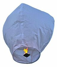 Event Lanterns Eco Friendly Sky Lanterns Pack Of 10 White