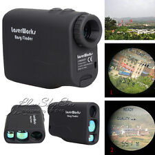 600M Waterproof Laser Range Finder Distance Meter Speed Measurer Golf Hunting QS