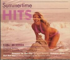 SUMMERTIME HITS (The Tokens, The Lovin' Spoonful and more!) 2 CD SET - NEW