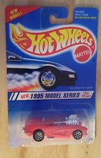 Hot Wheels 1995 Model Series 3 Hot Pink 58 Corvette Coupe Collector No 341 New