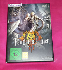 PANDORA'S TOWER LIMITED EDITION NINTENDO WII NEUF NEW VERSION FRANCAISE