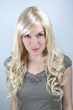 Perücke, Wig, blond, Scheitel, lockig 9319-611 ca. 60cm