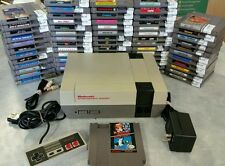 Nintendo NES System Classic Console NEW 72 Pin Installed Super Mario and games