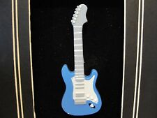 BLUE ELECTRIC GUITAR MAGNET