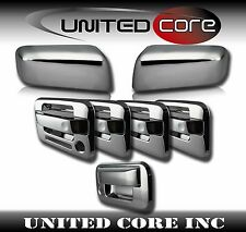 04-08 Ford F150 Chrome Mirror Cover Chrome 4 Door Handle Cover Chrome Tailgate