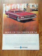 1964 Chrysler 300 Ad  Engineered Better Backed Better than any Car in its Class