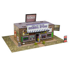1/64 Slot Car HO General Store Photo Real Kit Model Diorama Scenery Track Layout