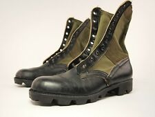 1960s BATA Vintage US Military SPIKE PROTECTIVE Tropical Combat Boots 8 N