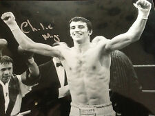 Charlie Magri-ancien champion du monde-superbe signé b / w photo