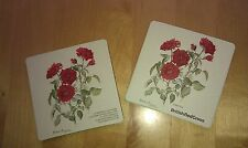 COASTERS ~ Roses ~ Set of 2