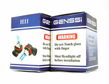 H11 GENSSI 5000K XENON HID HALOGEN HEADLIGHT BULB (Pack of 2)