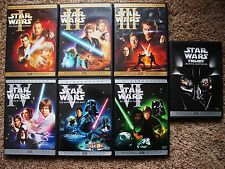 STAR WARS COMPLETE SAGA ON DVD 10 DISCS EPISODES 1 2 3 4 5 6, 1-6 WIDESCREEN