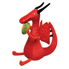 Dragons Love Tacos: Plush Red Dragon Toy Stuffed Fantasy Animal