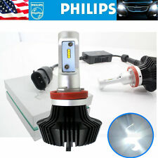 H11 200W 20000LM PHILIPS LED Headlight Kit Low Beam Bulbs 6500K White High Power