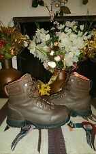 danner leather work boots for woman size 7.5 in mint condition