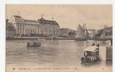 France, Trouville, Le Casino et les Bacs LL 25 Postcard, B083