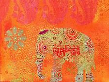 Art print poster PITTURA DT Indiano Collage Elefante lfmp 0346